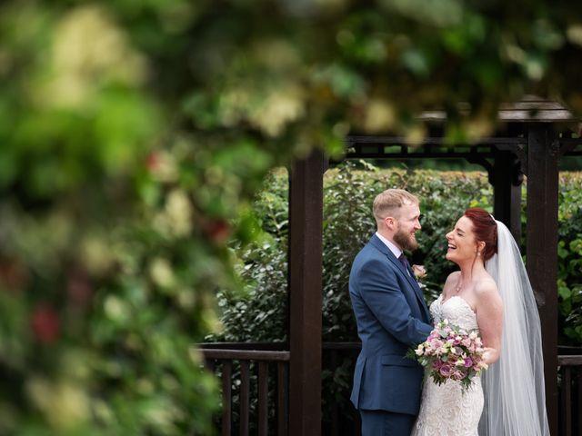 John and Vicki's Wedding in Welwyn, Hertfordshire 15