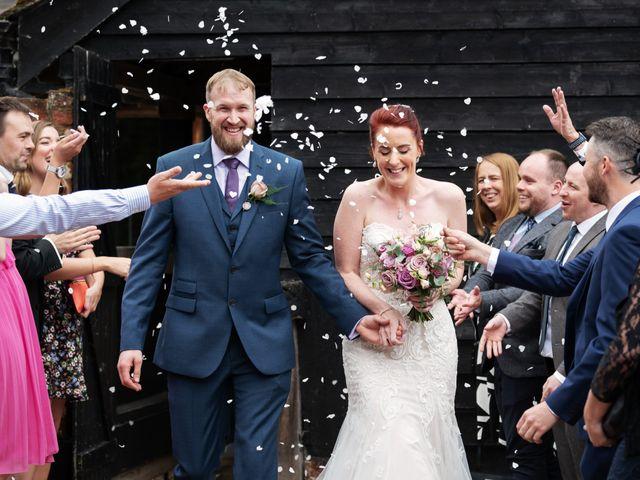 John and Vicki's Wedding in Welwyn, Hertfordshire 16