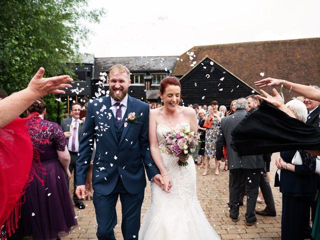 John and Vicki's Wedding in Welwyn, Hertfordshire 17
