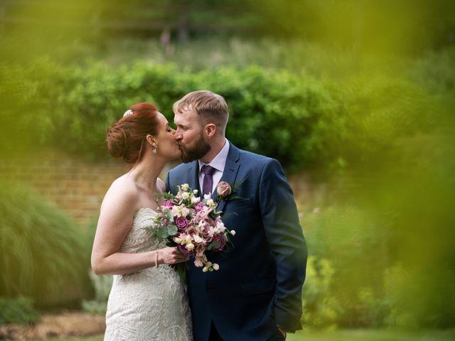 John and Vicki's Wedding in Welwyn, Hertfordshire 18