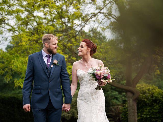 John and Vicki's Wedding in Welwyn, Hertfordshire 19