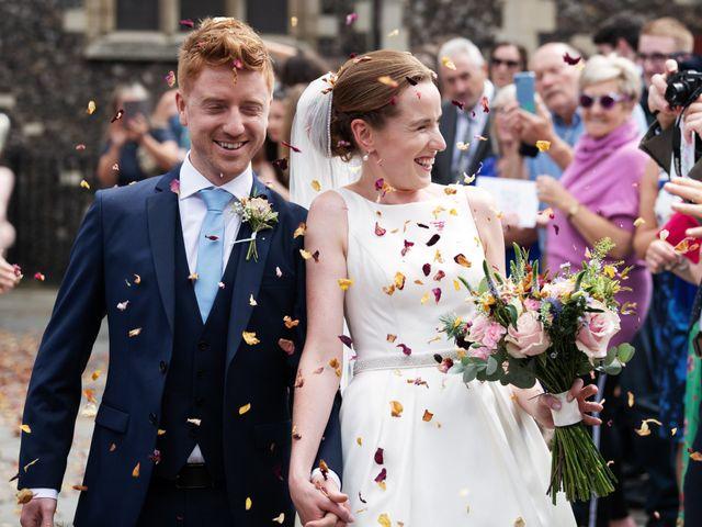 Sean and Katherine's Wedding in Latimer, Buckinghamshire 1