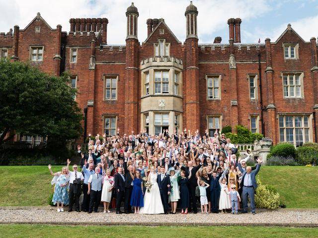 Sean and Katherine's Wedding in Latimer, Buckinghamshire 17