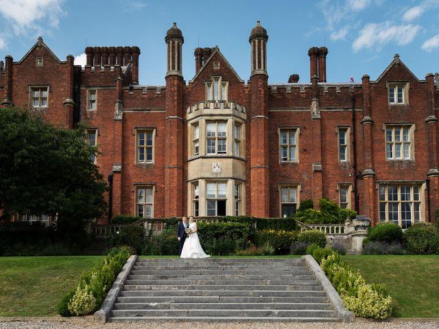 Sean and Katherine's Wedding in Latimer, Buckinghamshire 21