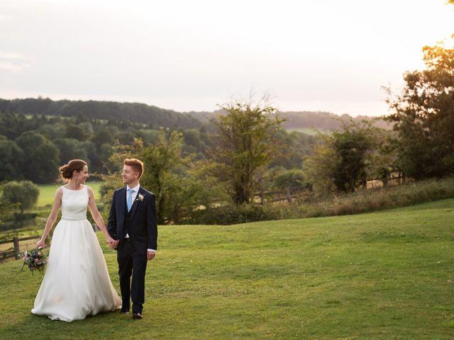 Sean and Katherine's Wedding in Latimer, Buckinghamshire 26