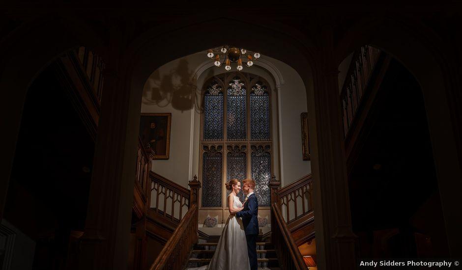 Sean and Katherine's Wedding in Latimer, Buckinghamshire