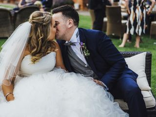 Zoe & Rob's wedding