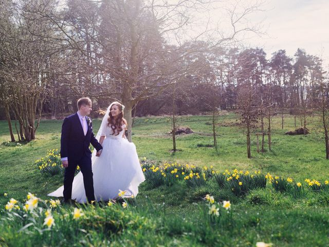 Rob and Belinda's Wedding in Otterburn, Northumberland 1
