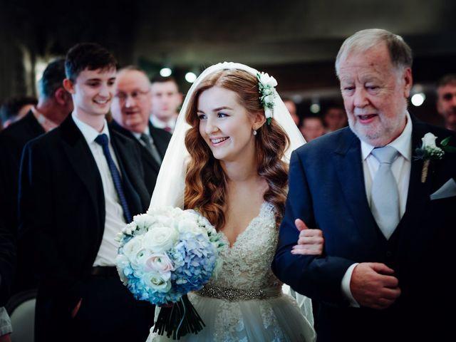 Rob and Belinda's Wedding in Otterburn, Northumberland 17