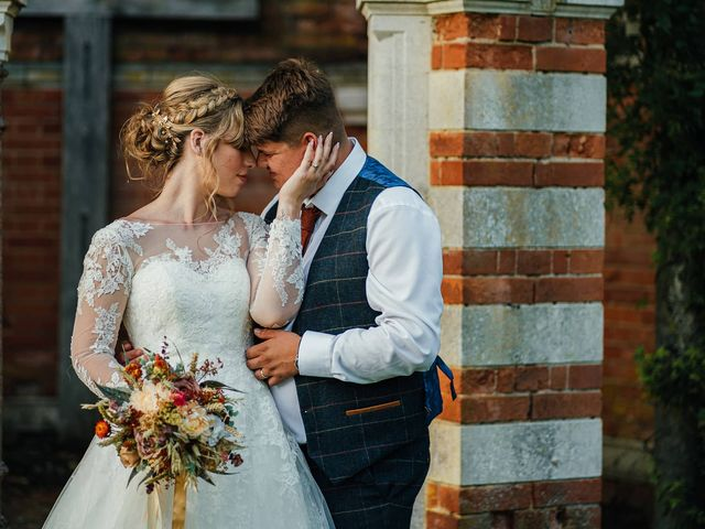 Joshua and Danielle's Wedding in Burnham, Buckinghamshire 3