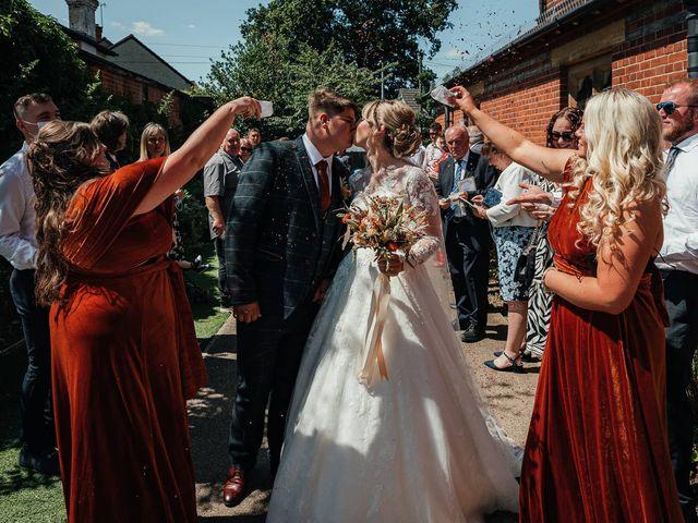 Joshua and Danielle's Wedding in Burnham, Buckinghamshire 4
