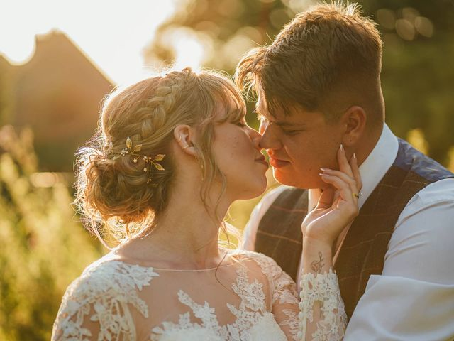 Joshua and Danielle's Wedding in Burnham, Buckinghamshire 1