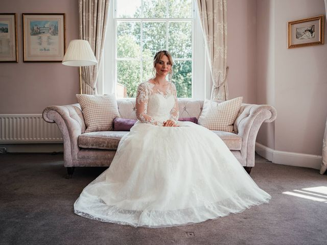 Joshua and Danielle's Wedding in Burnham, Buckinghamshire 5
