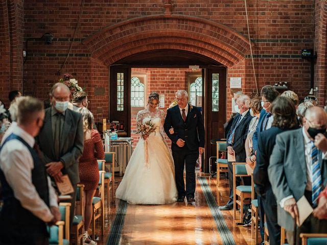 Joshua and Danielle's Wedding in Burnham, Buckinghamshire 7