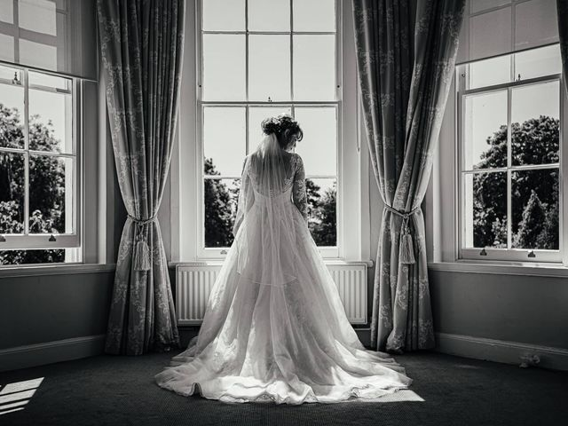 Joshua and Danielle's Wedding in Burnham, Buckinghamshire 11