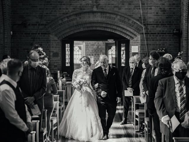 Joshua and Danielle's Wedding in Burnham, Buckinghamshire 14
