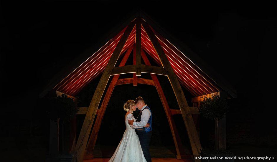 Joshua and Danielle's Wedding in Burnham, Buckinghamshire