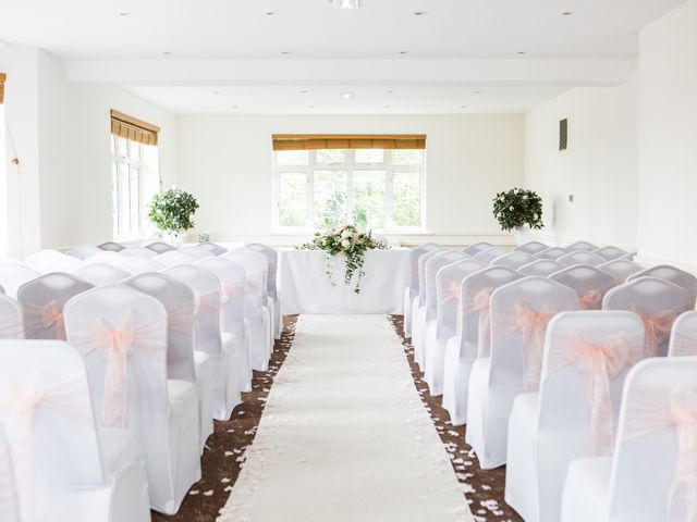 Aaron and Victoria's Wedding in Hickstead, West Sussex 3