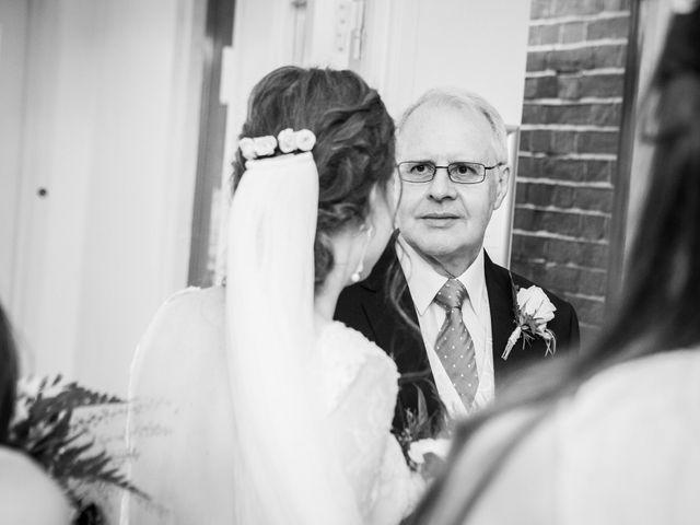 Aaron and Victoria's Wedding in Hickstead, West Sussex 12