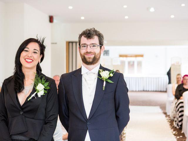 Aaron and Victoria's Wedding in Hickstead, West Sussex 13