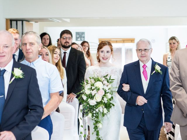 Aaron and Victoria's Wedding in Hickstead, West Sussex 14