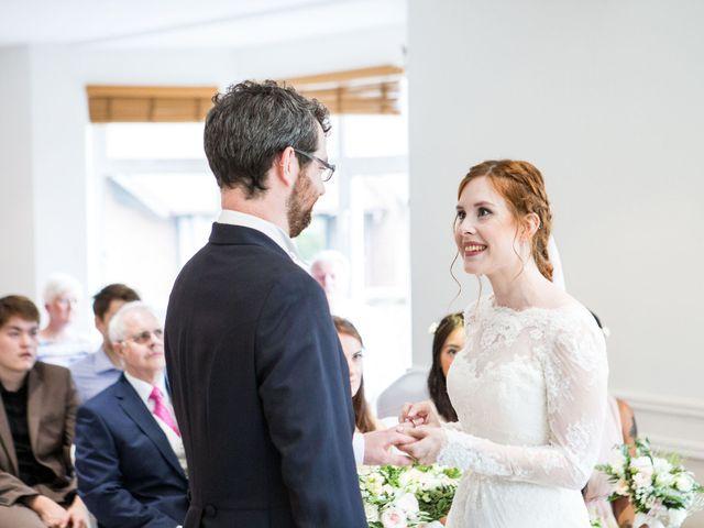 Aaron and Victoria's Wedding in Hickstead, West Sussex 16