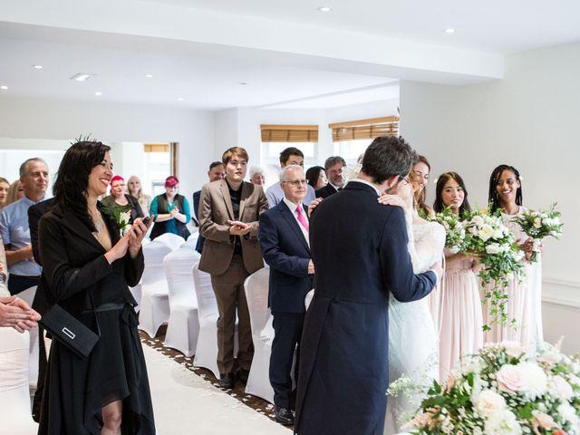 Aaron and Victoria's Wedding in Hickstead, West Sussex 17