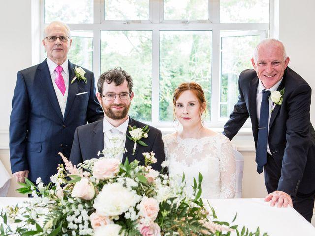 Aaron and Victoria's Wedding in Hickstead, West Sussex 18