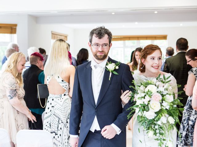 Aaron and Victoria's Wedding in Hickstead, West Sussex 19
