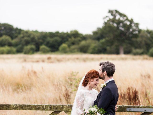 Aaron and Victoria's Wedding in Hickstead, West Sussex 21