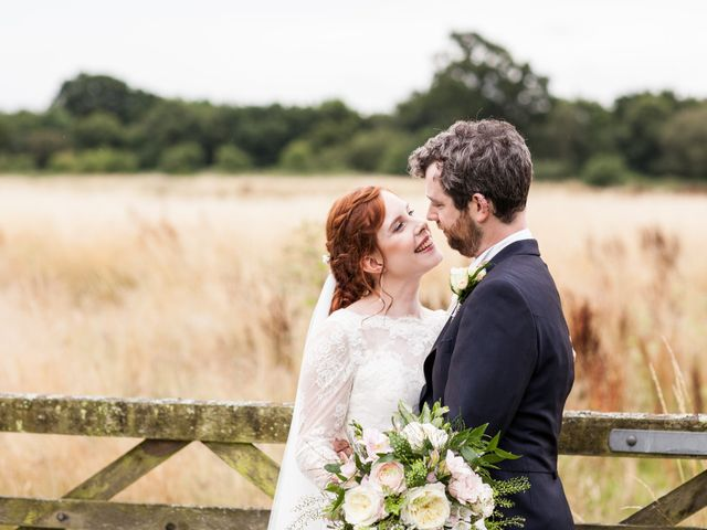 Aaron and Victoria's Wedding in Hickstead, West Sussex 22