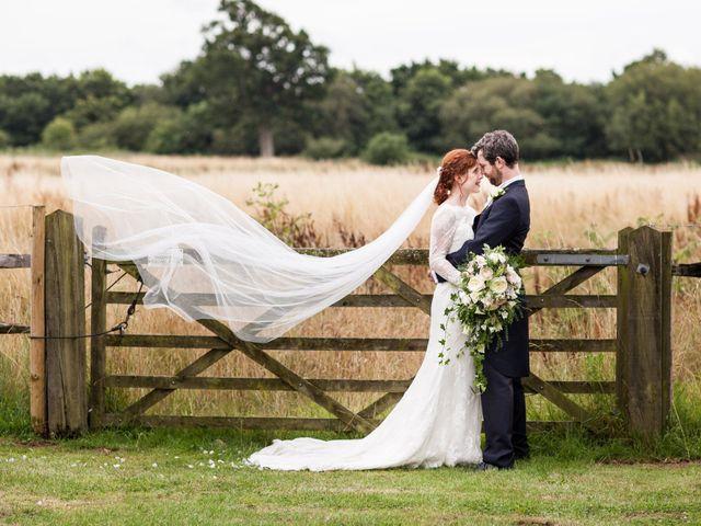 Aaron and Victoria's Wedding in Hickstead, West Sussex 1