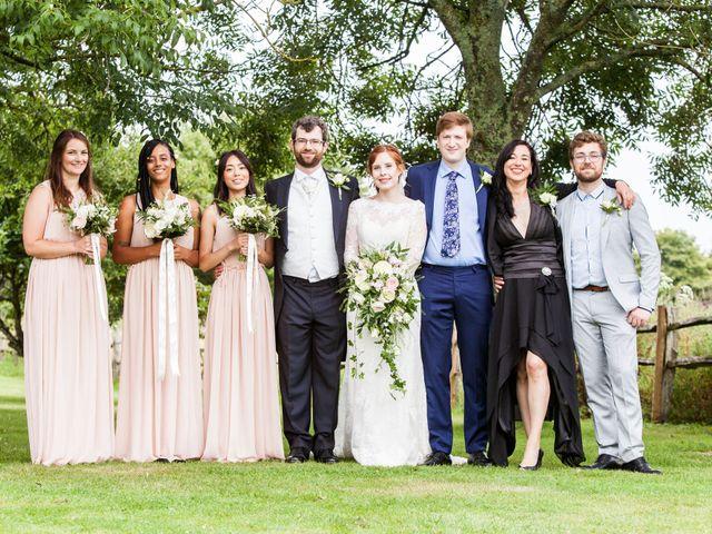 Aaron and Victoria's Wedding in Hickstead, West Sussex 26