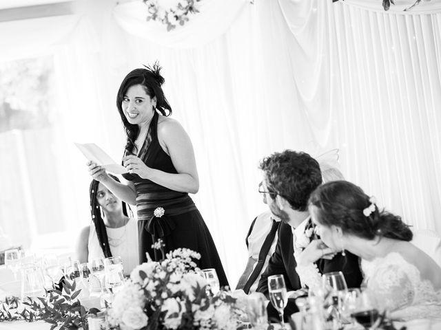 Aaron and Victoria's Wedding in Hickstead, West Sussex 38