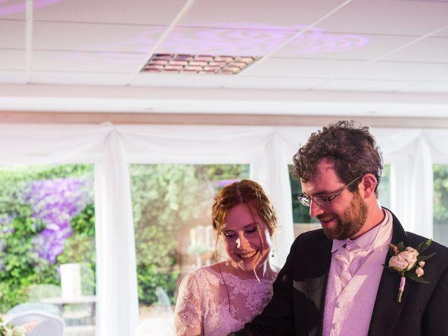 Aaron and Victoria's Wedding in Hickstead, West Sussex 42
