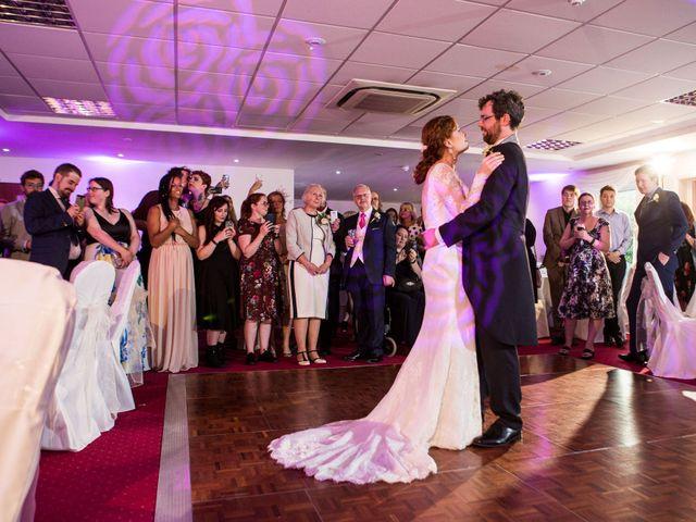 Aaron and Victoria's Wedding in Hickstead, West Sussex 43