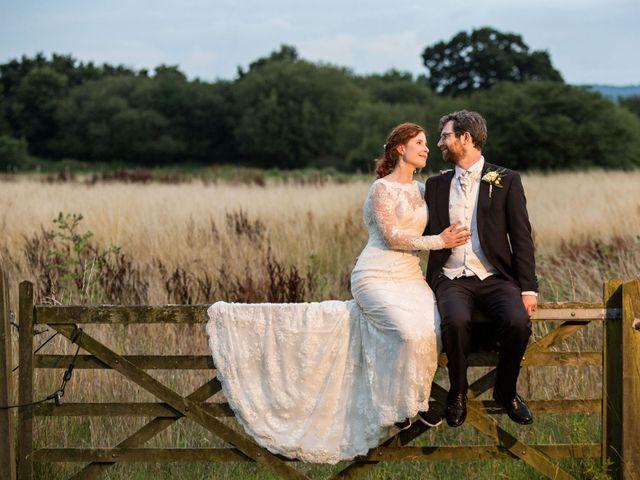 Aaron and Victoria's Wedding in Hickstead, West Sussex 48