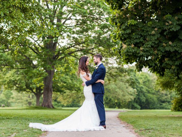 Josh and Jade's Wedding in Cheam, Surrey 3