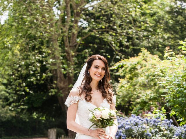 Josh and Jade's Wedding in Cheam, Surrey 14
