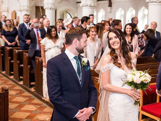 Josh and Jade's Wedding in Cheam, Surrey 16