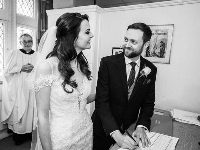 Josh and Jade's Wedding in Cheam, Surrey 21