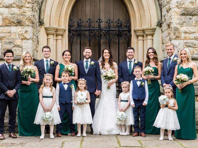 Josh and Jade's Wedding in Cheam, Surrey 25