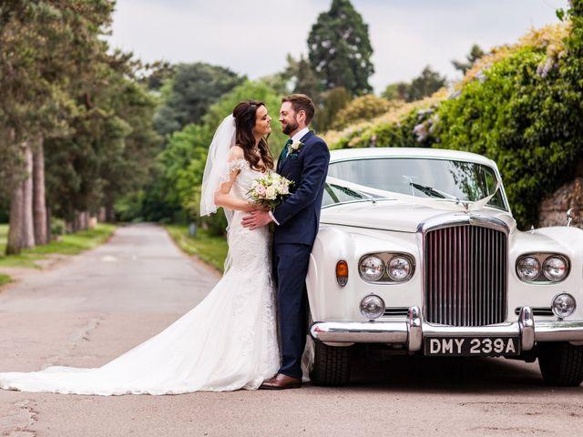Josh and Jade's Wedding in Cheam, Surrey 1
