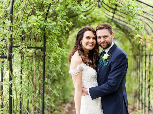 Josh and Jade's Wedding in Cheam, Surrey 40