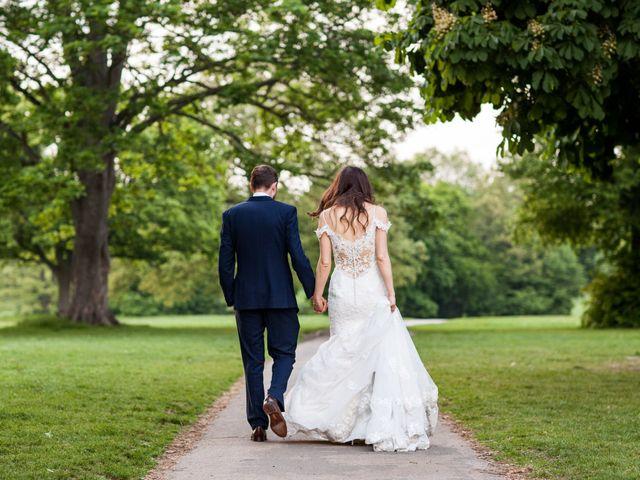 Josh and Jade's Wedding in Cheam, Surrey 46