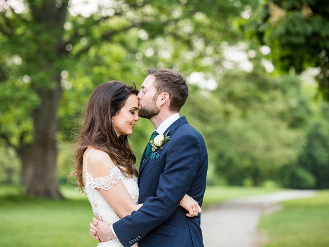Josh and Jade's Wedding in Cheam, Surrey 2