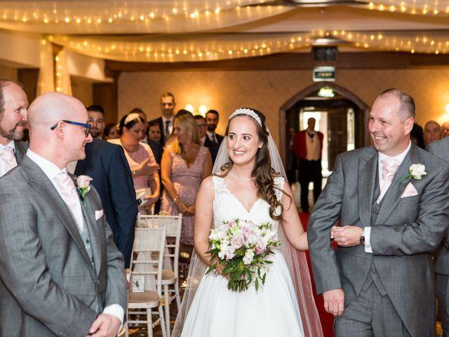 Scott and Lisa's Wedding in East Grinstead, West Sussex 12