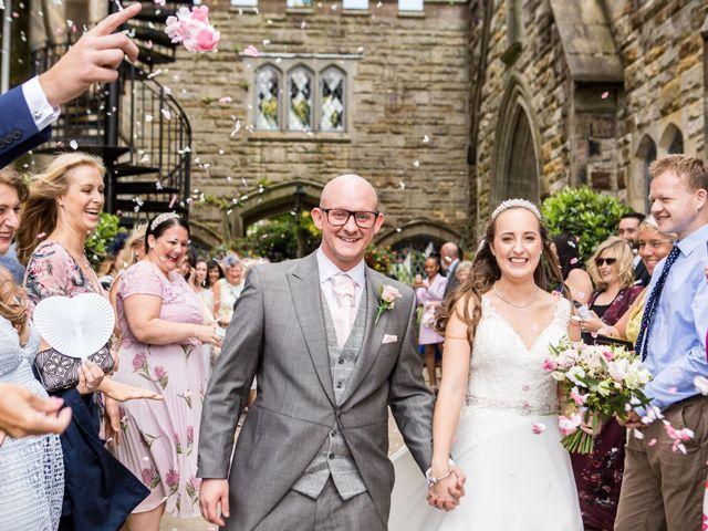 Scott and Lisa's Wedding in East Grinstead, West Sussex 18