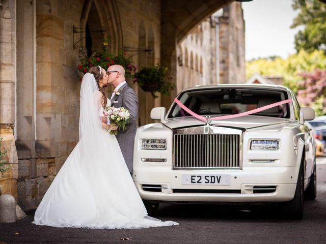 Scott and Lisa's Wedding in East Grinstead, West Sussex 24