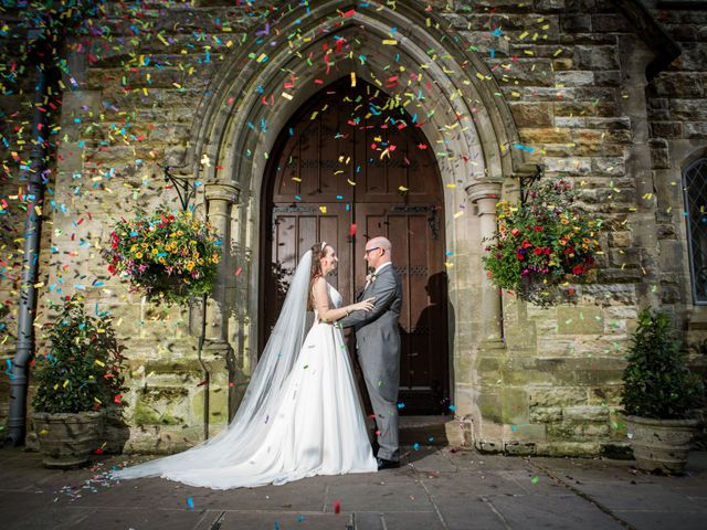 Scott and Lisa's Wedding in East Grinstead, West Sussex 1